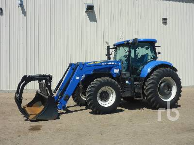 2011 NEW HOLLAND T7.170 MFWD Tractor