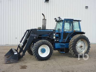 FORD 8630 MFWD Tractor