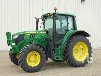 2016 JOHN DEERE 6130M MFWD Tractor