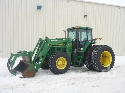 2001 JOHN DEERE 7710 MFWD Tractor