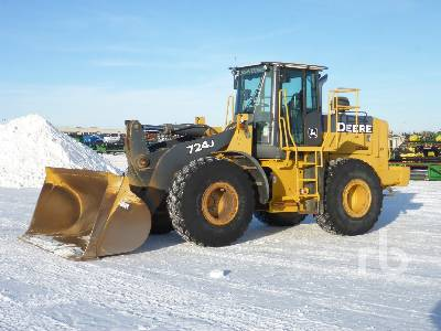 2005 JOHN DEERE 724J Wheel Loader