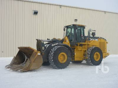 2017 JOHN DEERE 844K Series III Wheel Loader