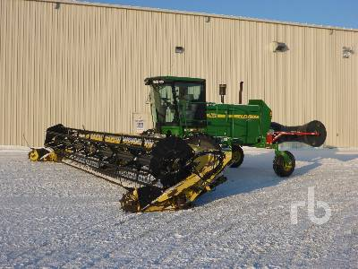2007 JOHN DEERE 4895 36 Ft Swather