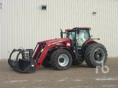 2019 CASE IH PUMA 185 MFWD Tractor