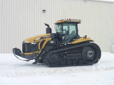 2015 CHALLENGER MT865E Track Tractor