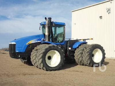 2009 NEW HOLLAND T9040 4WD Tractor