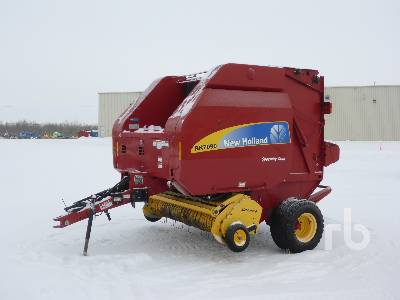 2013 NEW HOLLAND BR7090 Specialty Crop Round Baler