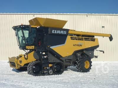 2015 CLAAS 760TT RWA Combine
