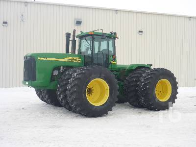 2004 JOHN DEERE 9520 4WD Tractor