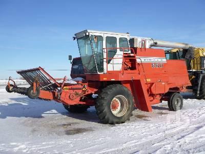 1981 MASSEY FERGUSON 860 Combine Parts/Stationary Construction-Other
