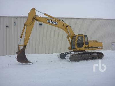2001 JOHN DEERE 230 LC Hydraulic Excavator