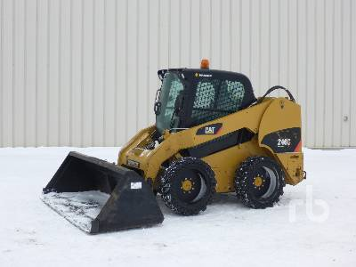 2007 CATERPILLAR 246C Skid Steer Loader