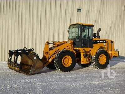 2008 HYUNDAI HL740-7A Wheel Loader