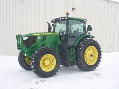 2013 JOHN DEERE 6170R MFWD Tractor