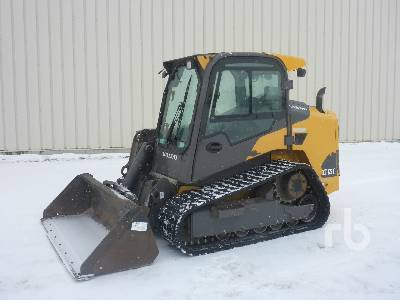 2015 VOLVO MCT125C-T4 Side Arm Multi Terrain Loader