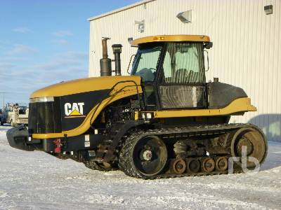 2001 CATERPILLAR CHALLENGER 85E Track Tractor