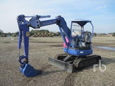 2007 KOMATSU PC38UU-3 Mini Excavator (1 - 4.9 Tons)