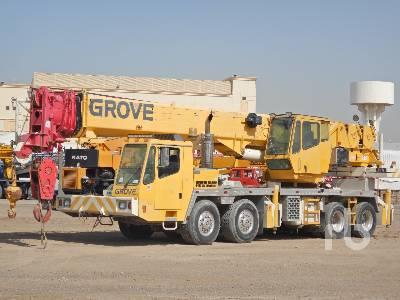 GROVE TMS700E 70 Ton 8x4x4 Hydraulic Truck Crane