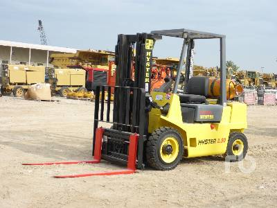 1992 HYSTER H2.50XL 2.5 Ton Forklift