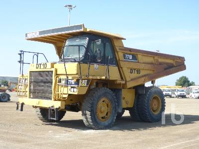 2007 CATERPILLAR 771D Rock Truck