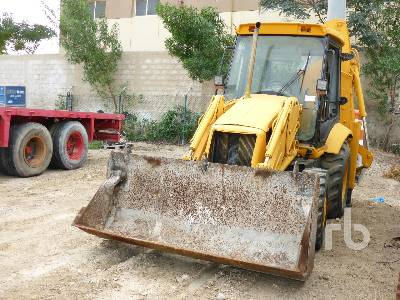 2003 JCB 3CX 4x4 Loader Backhoe