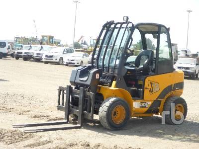 2009 JCB TLT30 Rough Terrain Forklift