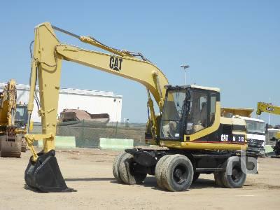 1998 CATERPILLAR M312 4x4 Mobile Excavator