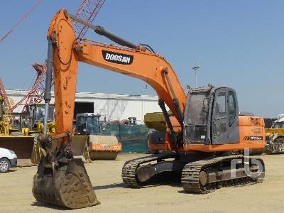 DOOSAN DX225LCB Hydraulic Excavator