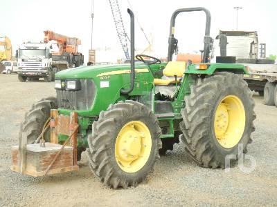 2018 JOHN DEERE 5075E MFWD Tractor
