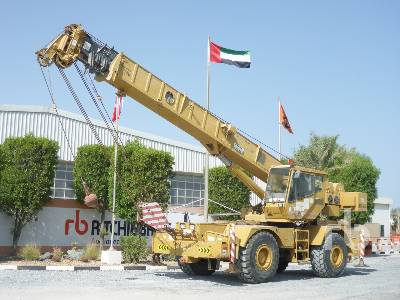 1996 GROVE RT635C 35 Ton 4x4x4 Rough Terrain Crane