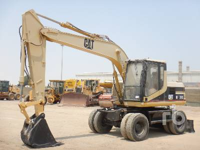 1998 CATERPILLAR M312 Mobile Excavator