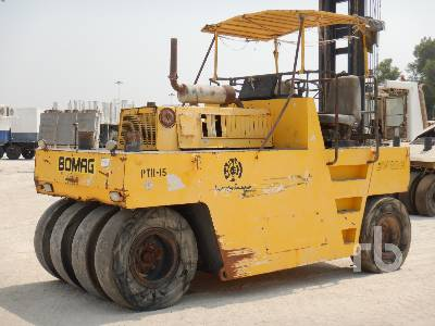 1998 BOMAG BW20R 8 Wheel Pneumatic Roller