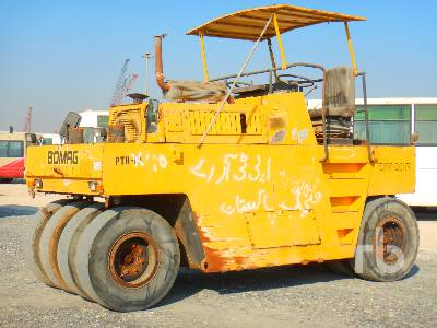 1999 BOMAG BW20R 8 Wheel Pneumatic Roller