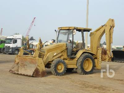 1999 CATERPILLAR 428C 4x4 Loader Backhoe