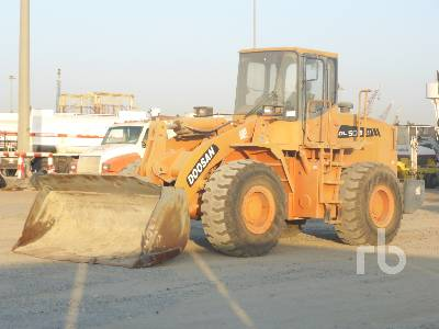 2011 DOOSAN DL503 Wheel Loader
