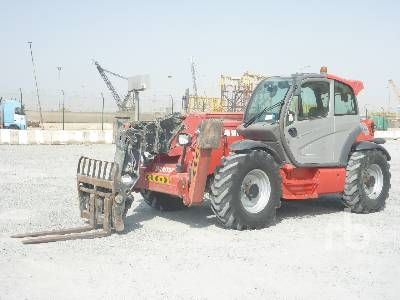 2014 MANITOU MT-X1840 4x4x4 Telescopic Forklift