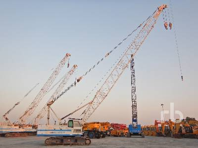 HITACHI CX500 50 Ton Crawler Crane
