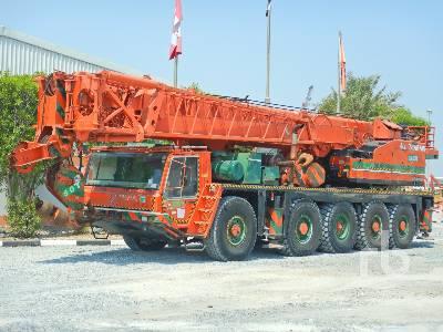 1996 TADANO AR1200M-1 120 Ton 10x8x10 All Terrain Crane