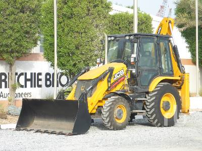 2018 JCB 3CX 4x4 Loader Backhoe