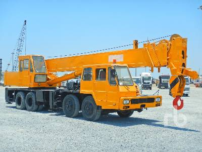 30 Ton 8x4x4 Hydraulic Truck Crane