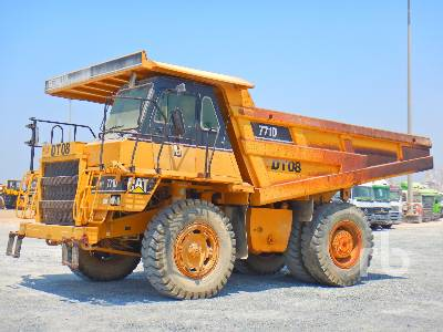 2006 CATERPILLAR 771D Rock Truck