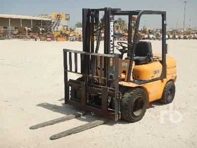HYUNDAI HDF30II 3 Ton Forklift