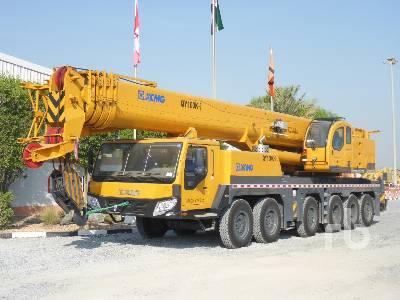 2020 XCMG QY100K-I 100 Ton 12x6x8 Hydraulic Truck Crane