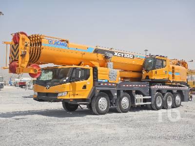 Unused 2019 XCMG XCT100 100 Ton 10x6x6 Hydraulic Truck Crane