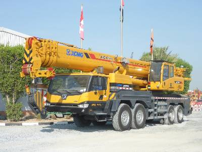 2020 XCMG XCT80 80 Ton 8x4x4 Hydraulic Truck Crane