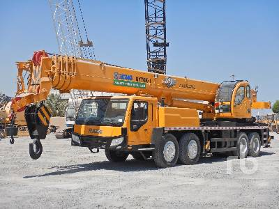 2016 XCMG QY70K 70 Ton 8x4x4 Hydraulic Truck Crane
