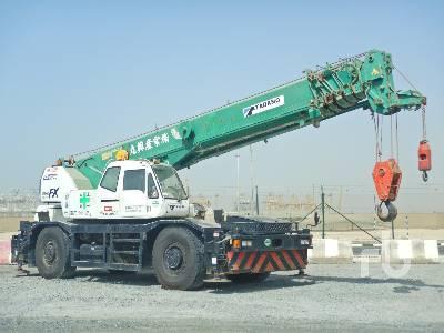 1996 TADANO TR500M-3 50 Ton 4x4x4 Rough Terrain Crane