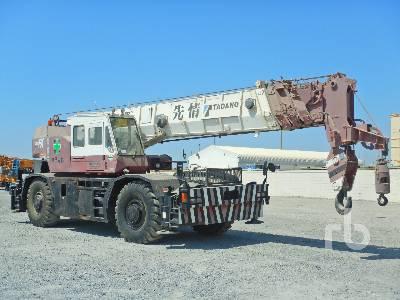 1991 TADANO TR500M-1 50 Ton 4x4x4 Rough Terrain Crane