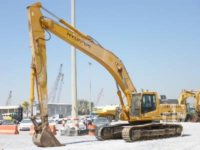 2004 HYUNDAI ROBEX 450LC-7 Long Reach Hydraulic Excavator
