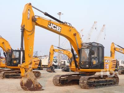 2018 JCB JS205LC Hydraulic Excavator